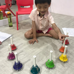 Using bells to learn solfege