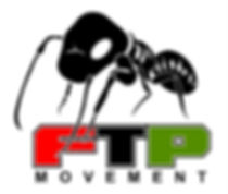 Official logo for FTP Movement Black Siafu Ant standing on Red, Black and Green letters