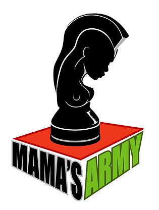 Official logo for Mama's Army