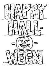 Happy Halloween Booklet