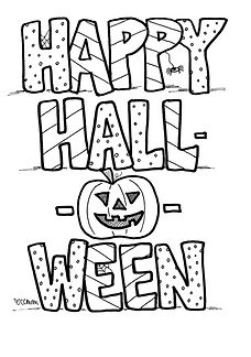 Print every page and fold them like a little mini-booklet, or just select the ones you like best. Happy Halloween from Custom Coloring Mom!
