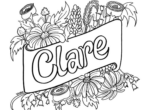 Digital Download: Custom Coloring Page + Video