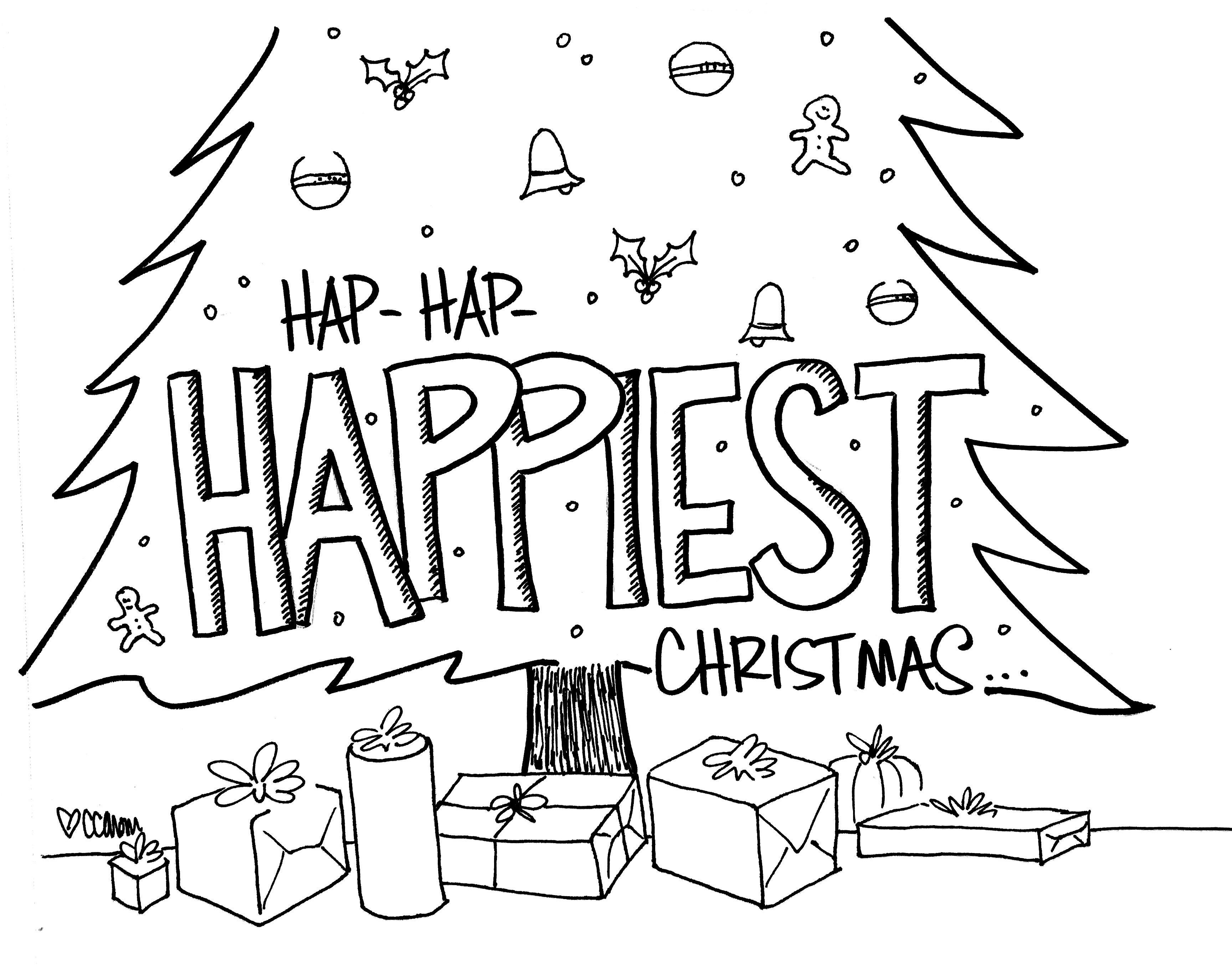 Hap Hap Happiest Christmas