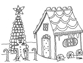Making a gingerbread house is one of our family's favorite Christmas tradtions.