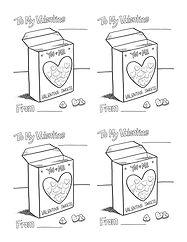 Valentine Conversation Hearts x 4
