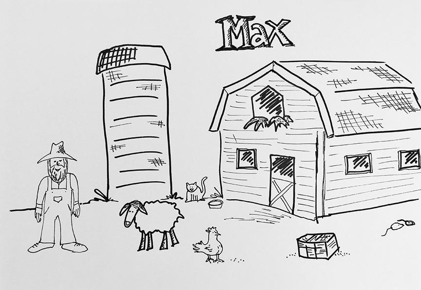 Max's Farm Scene