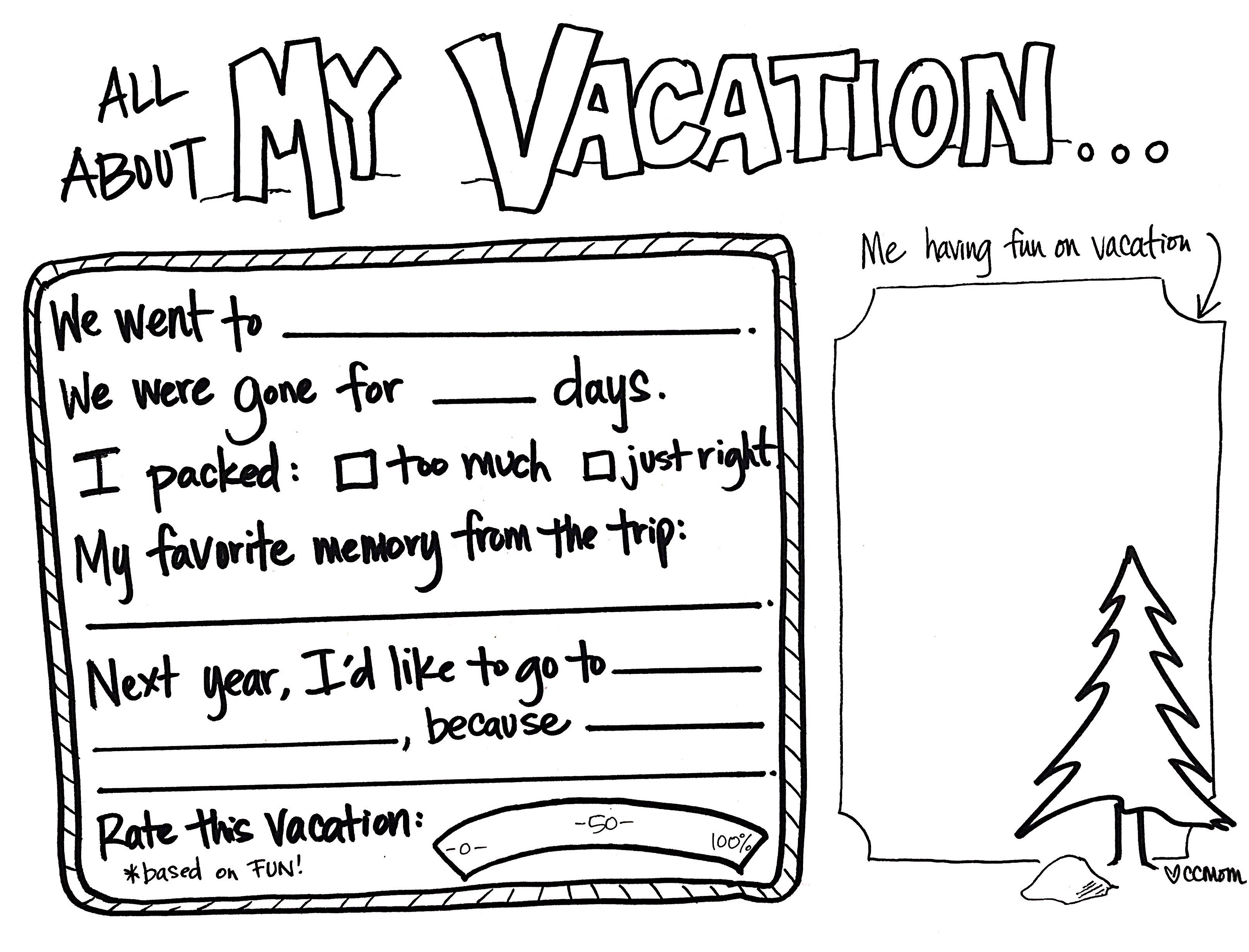 Summer Vacation Memories