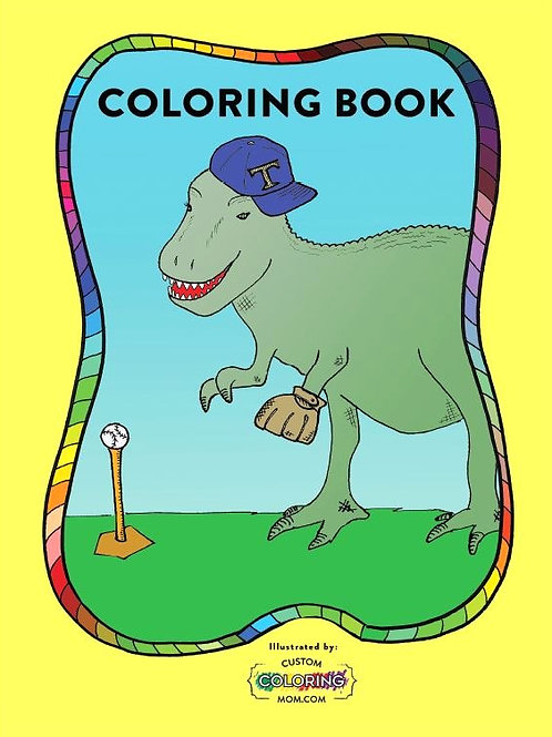 Custom Coloring Mom Coloring Book, 24 pages