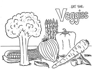 It's a great day to eat your vegetables. Or at least color them. No judgment here.