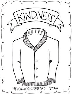 Today is World Kindness Day, and Cardigan Day (in honor of Mr. Rogers, the coolest guy to rock a cardigan). Choose kindness, today and everyday.