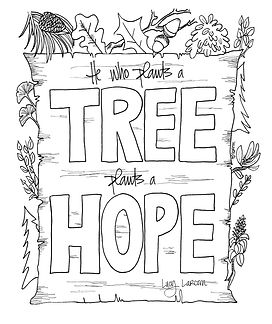 """""""He who plants a tree plants a hope."""" Lucy Larcom, you couldn't have said it any better. Happy Arbor Day, everyone! #planttrees"""