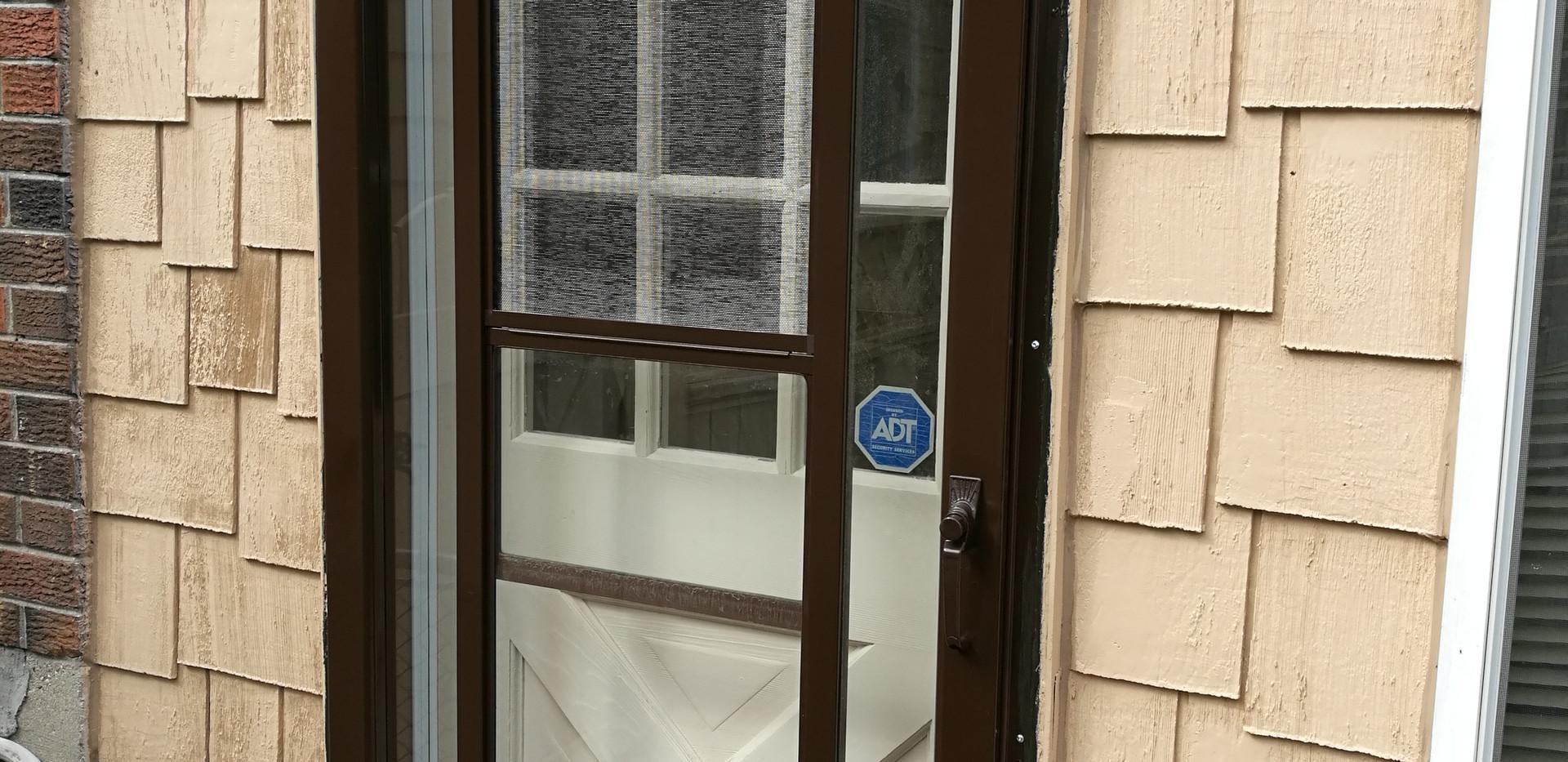 Repainted Storm Door