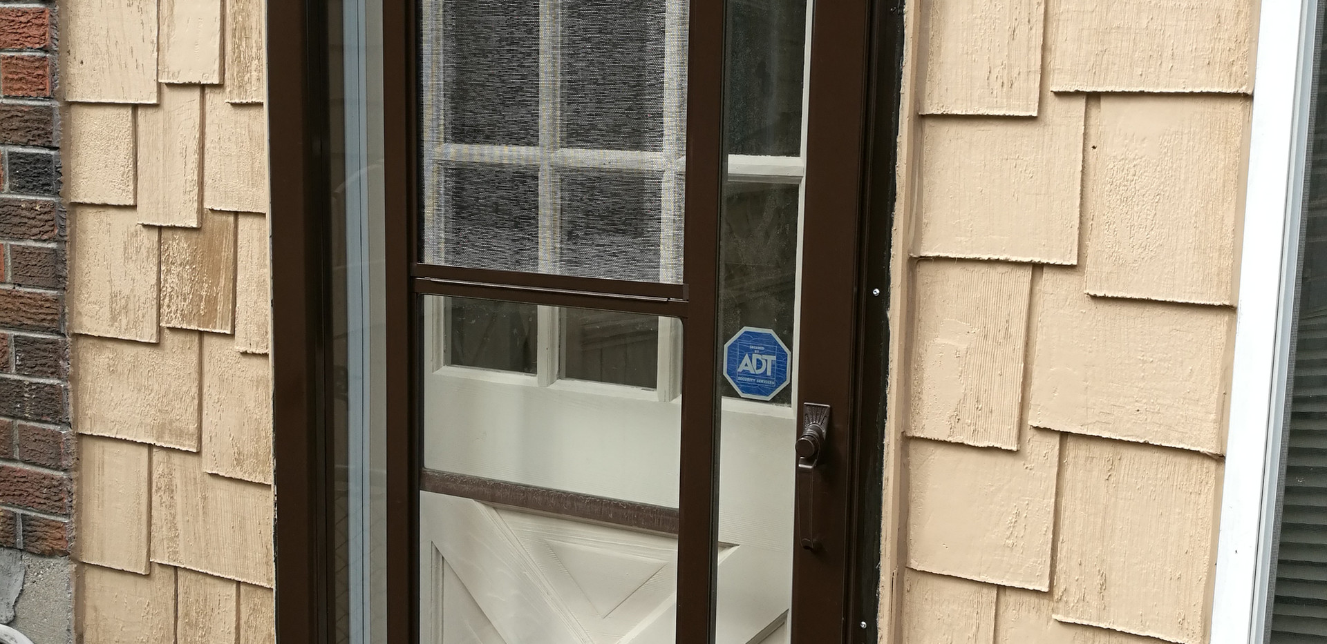 Repainted Storm Door