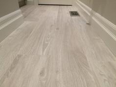 Bathroom With Porcelain Plank Floor Tile