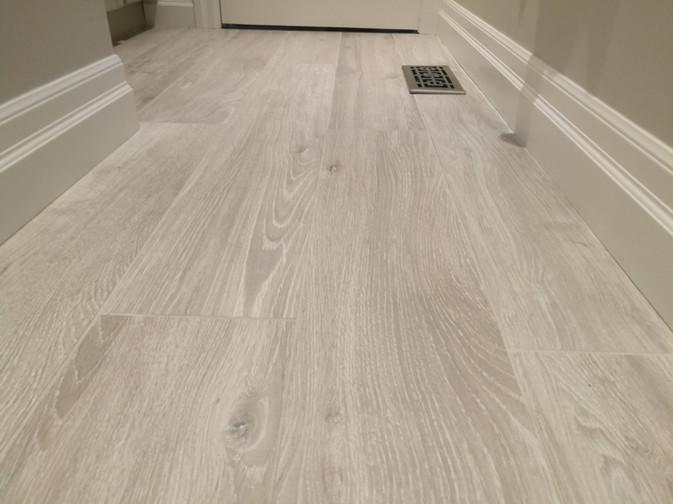 Shower Floor With Porcelain Tile