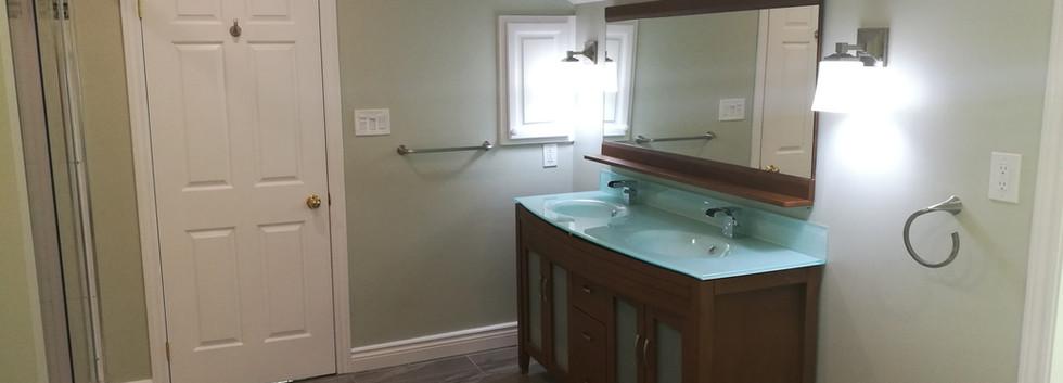 Ensuite Bathroom View