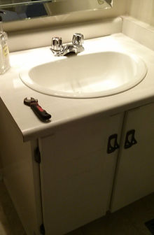 Old Bathroom Sink