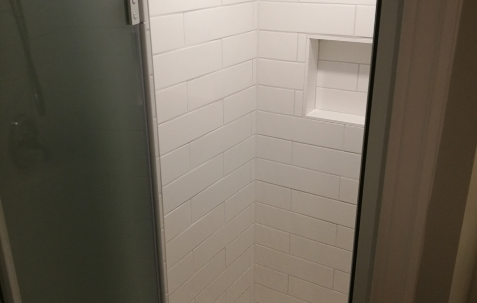Shower With Niche