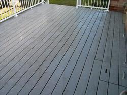 Pebble Grey Trex Deck