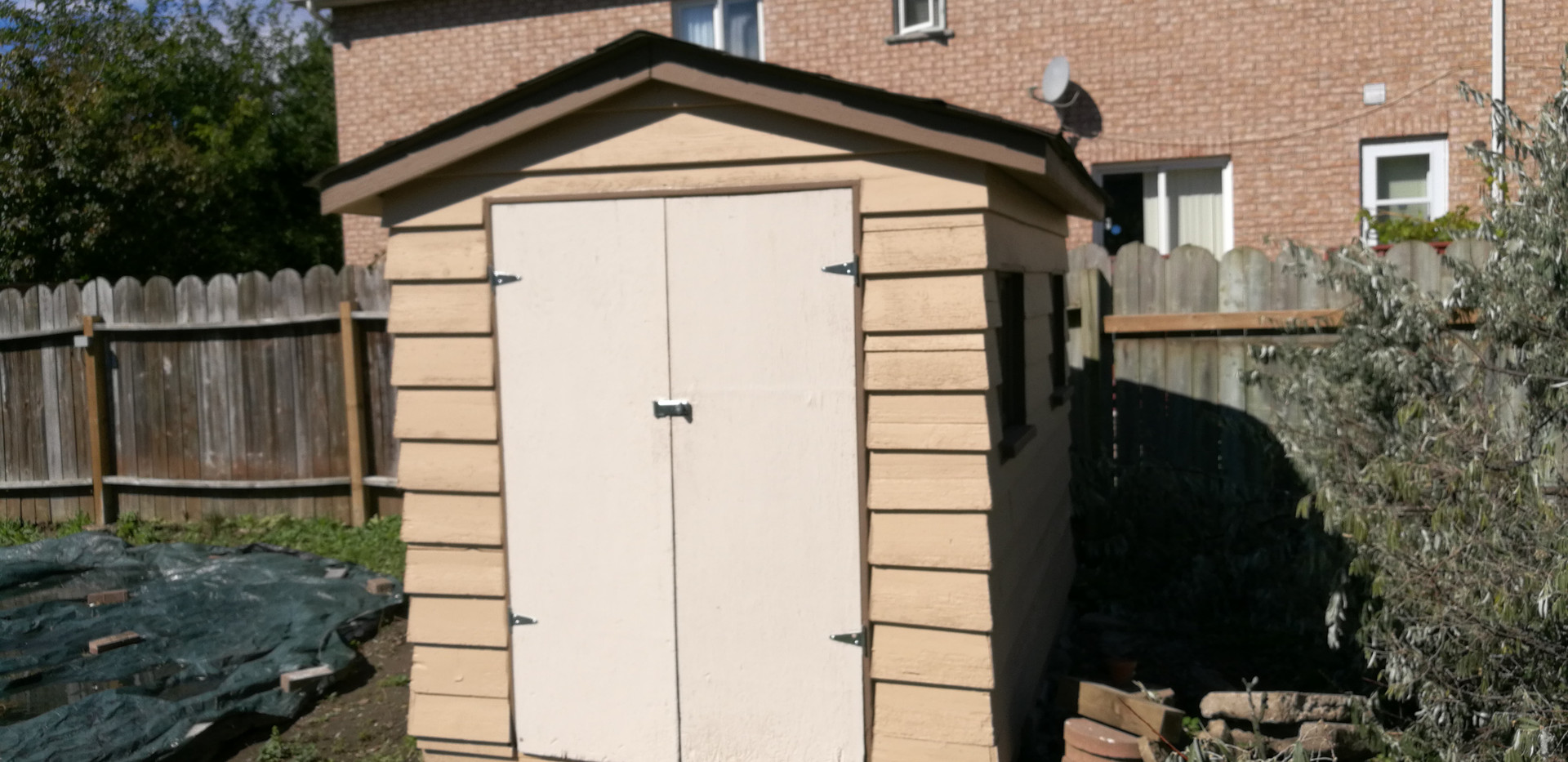Repainted Shed