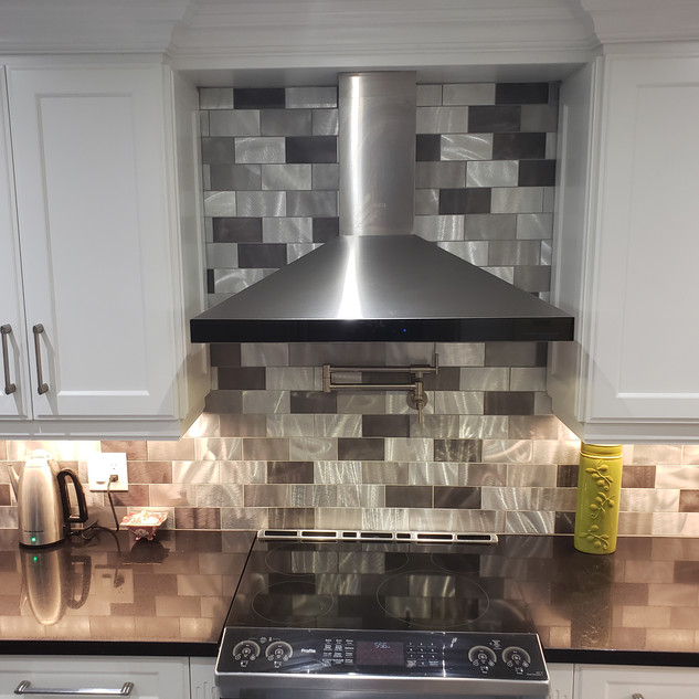 Renovated Kitchen With Pot Filler