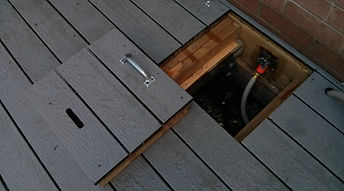 Deck Hose Access