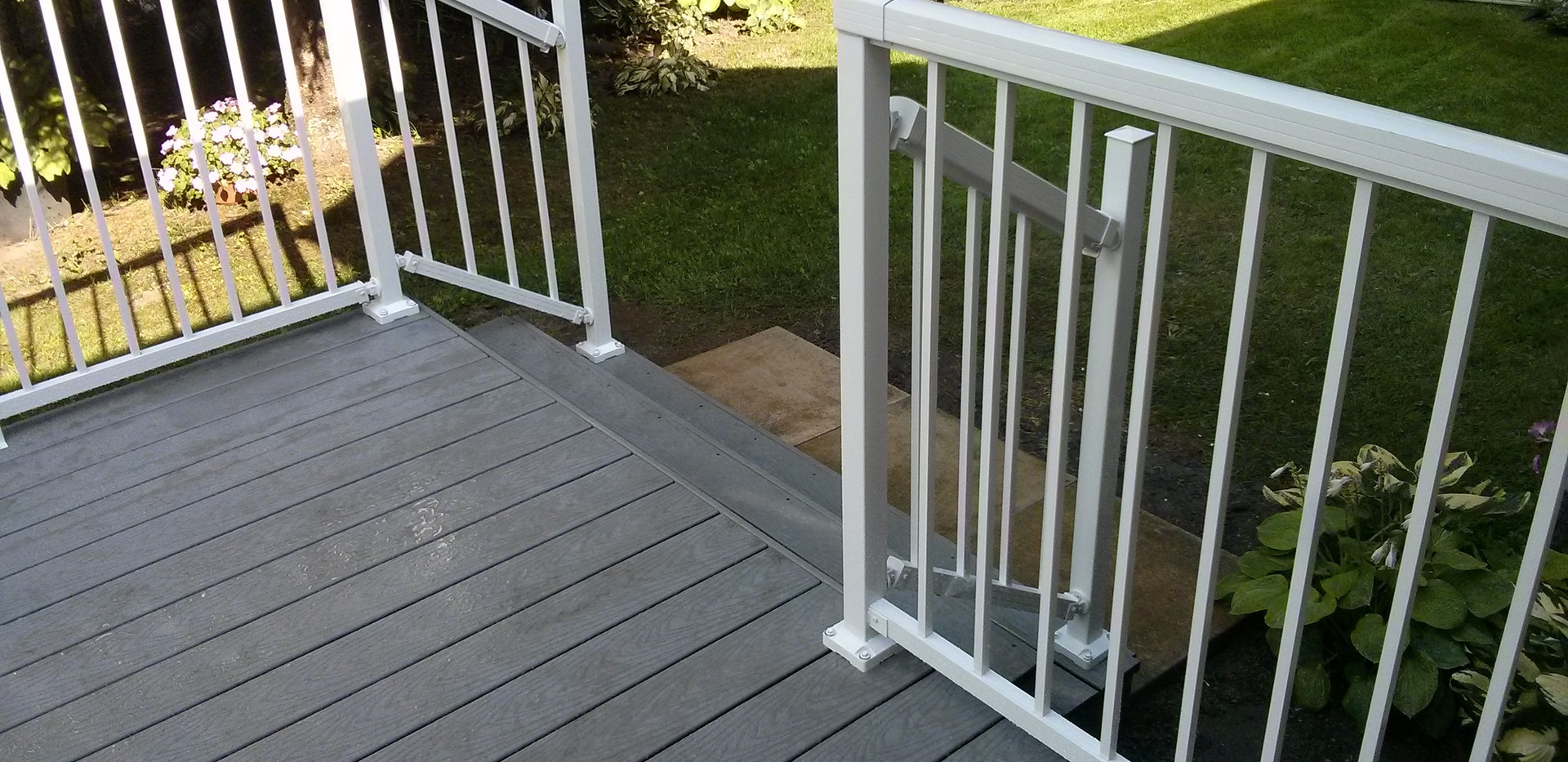 Deck Railing View