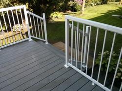 Deck Railing View