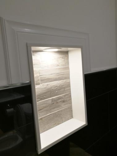 Bathroom Storage Niche