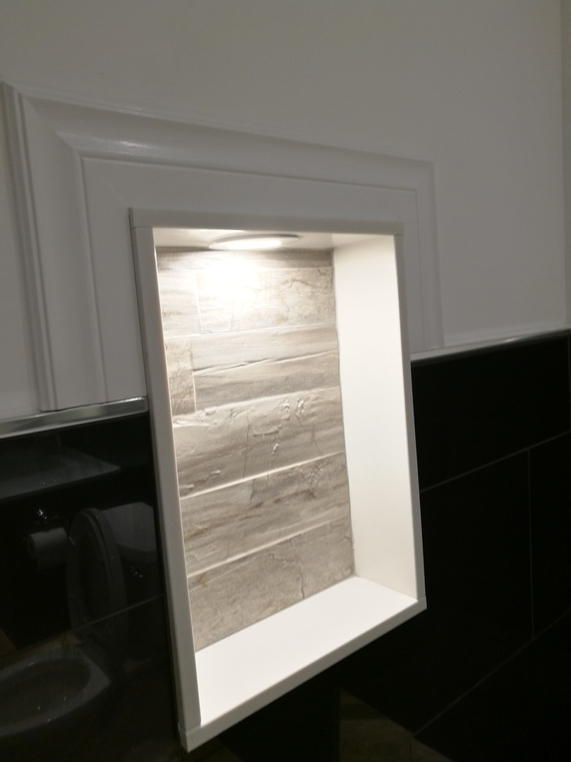 Bathroom Storage Niche