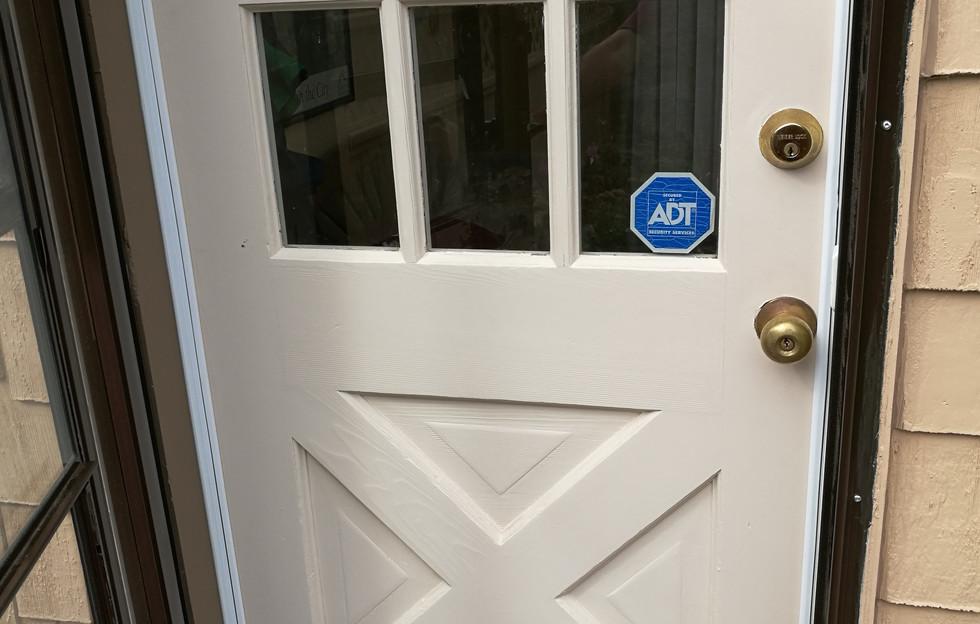 Door Painted