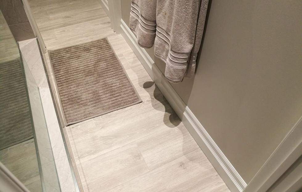 Shower Hall Floor View