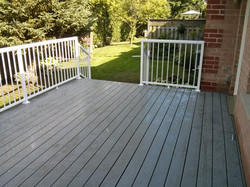 Deck Backyard View
