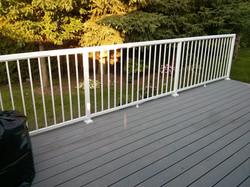 Trex Deck With Aluminum Railing