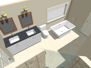 Durham Region Bathroom Design: The Importance of 3D Renderings