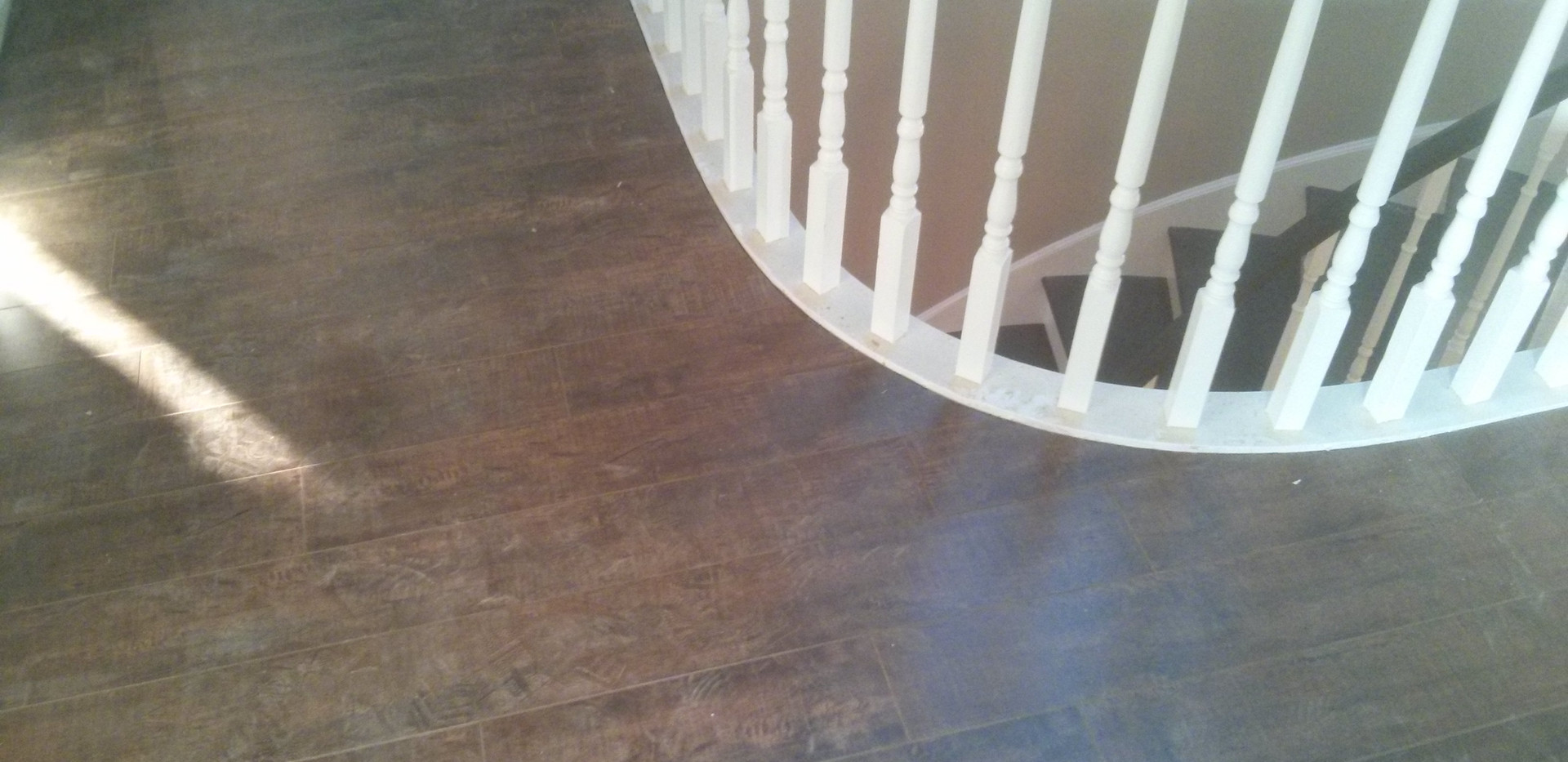 Laminate Flooring Curved Nosing Cut