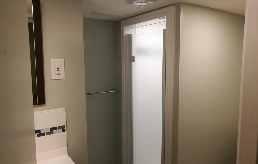 Basement Bathroom Full View