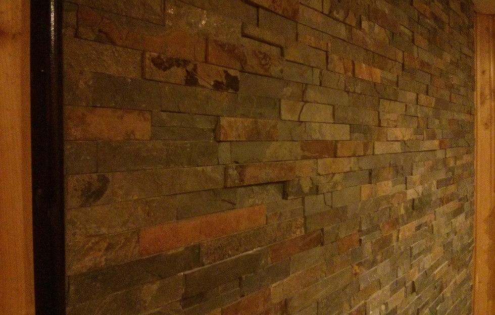 Feature Wall Close-Up