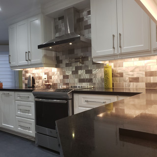 Stainless Steel Range Hood And Stove