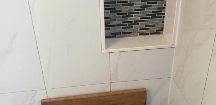 Shower Niche And Bench