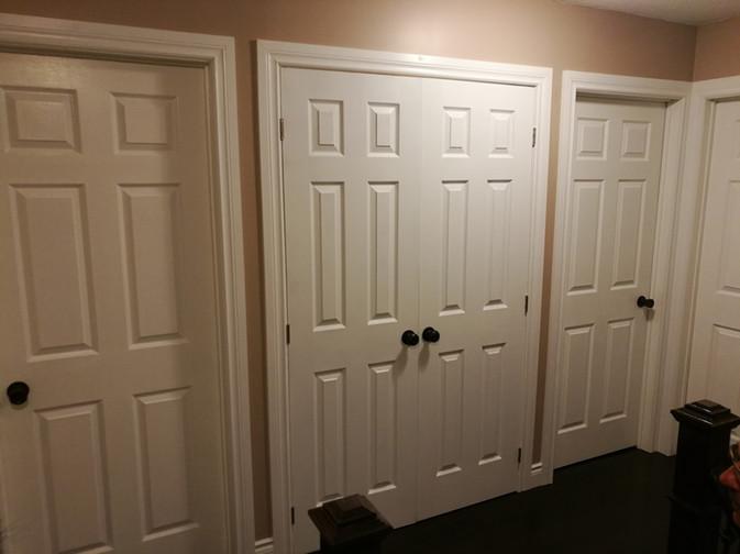 New Door Casings