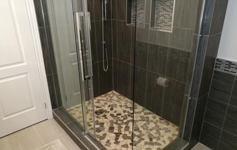 Full View Of Shower