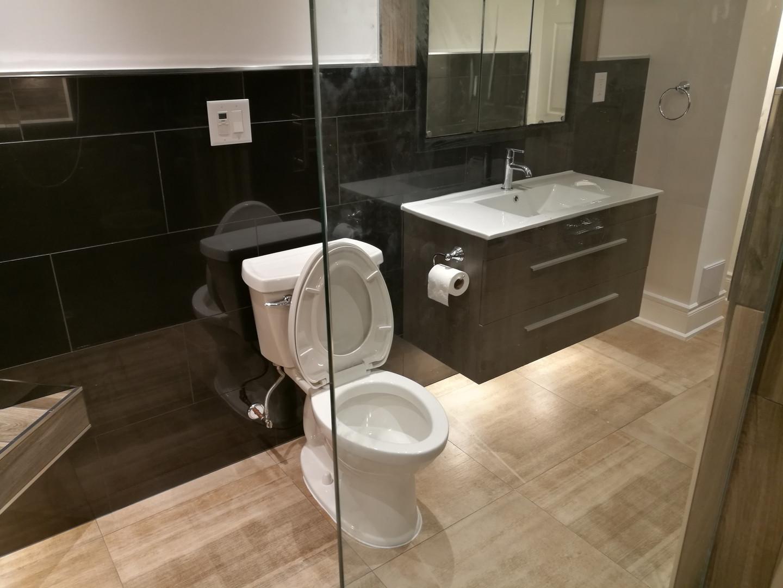Spa Bathroom Full View