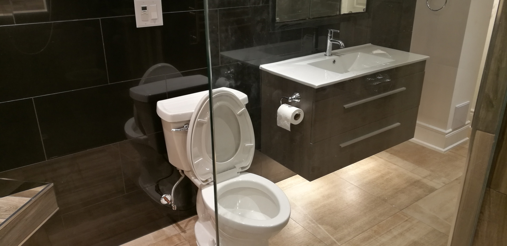 View of Toilet And Sink