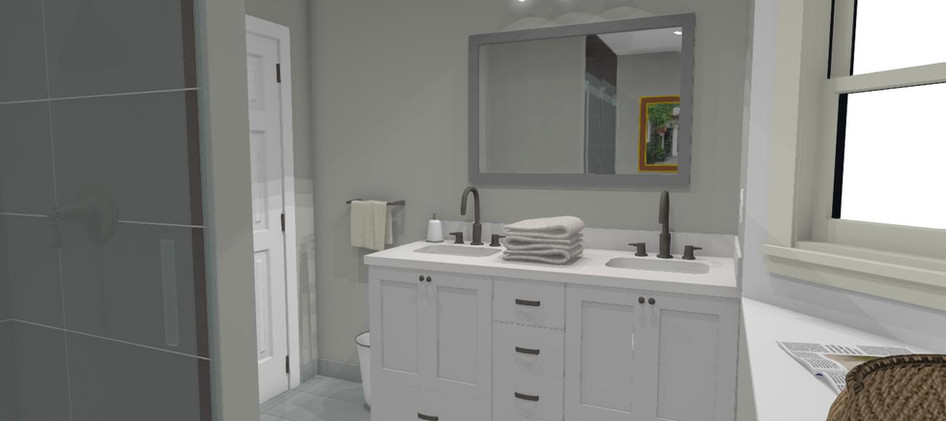 Bathroom Cabinet View