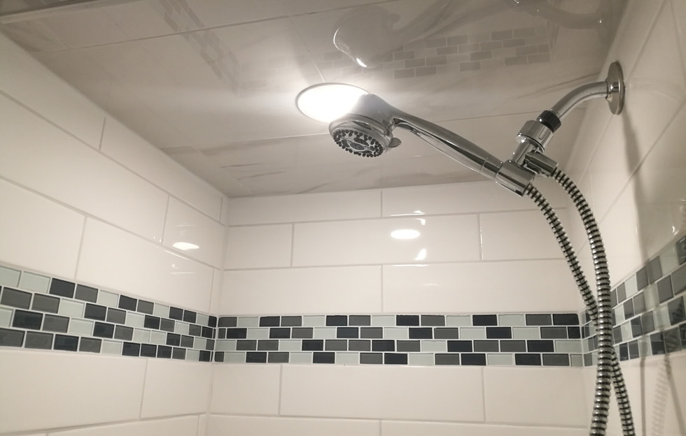Shower Ceiling View