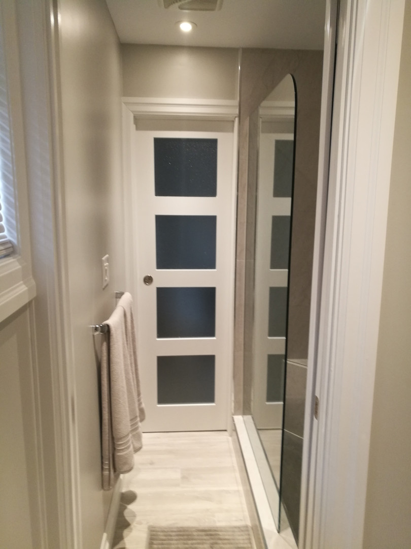 Bathroom Shower Hallway