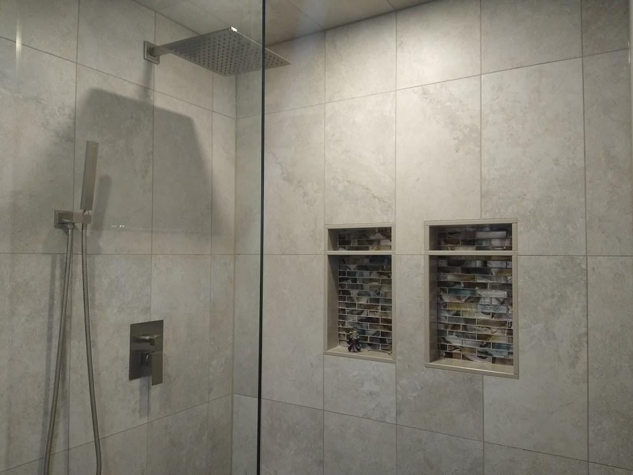 Tiled Porcelain Shower