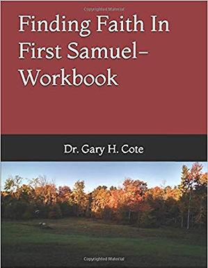 Finding Faith In First Samuel-Workbook
