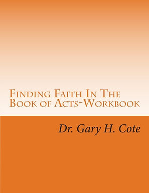 Finding Faith In The Book of Acts-Workbook